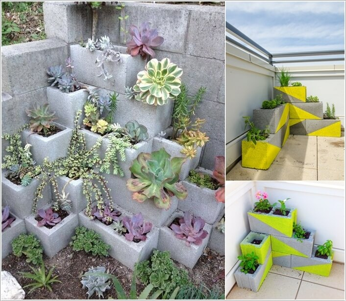 10 Amazing Outdoor Cinder Block Projects 5