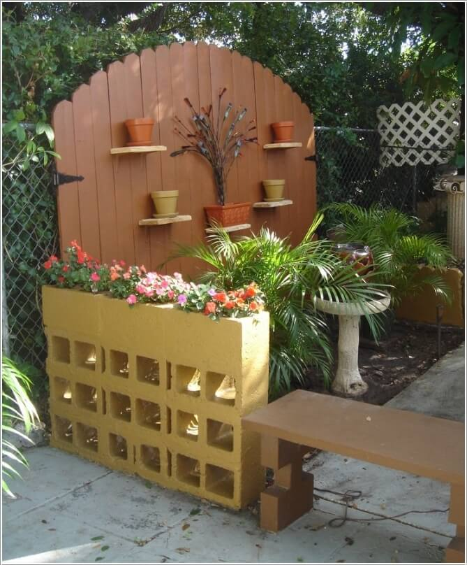 10 Amazing Outdoor Cinder Block Projects 9