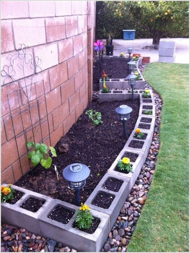 10 Amazing Outdoor Cinder Block Projects 1