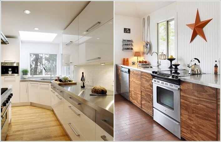 10 Chic Ways to add Metallic Accents to Your Kitchen 7