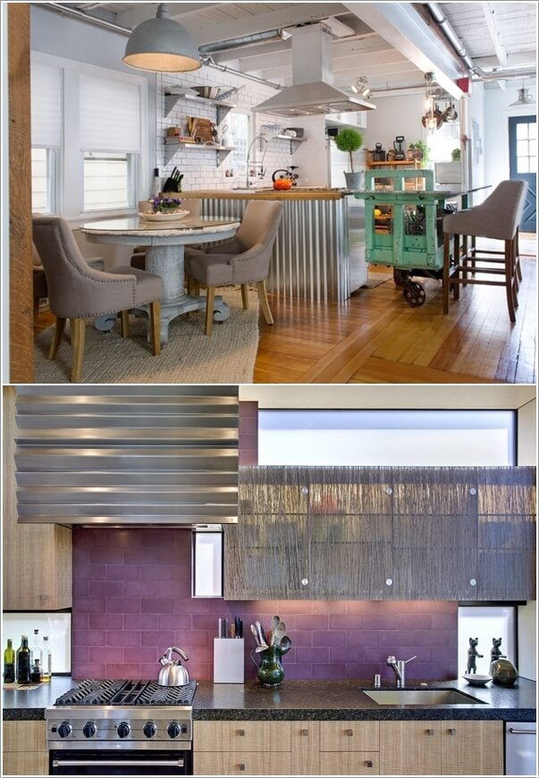 10 Chic Ways to add Metallic Accents to Your Kitchen 9