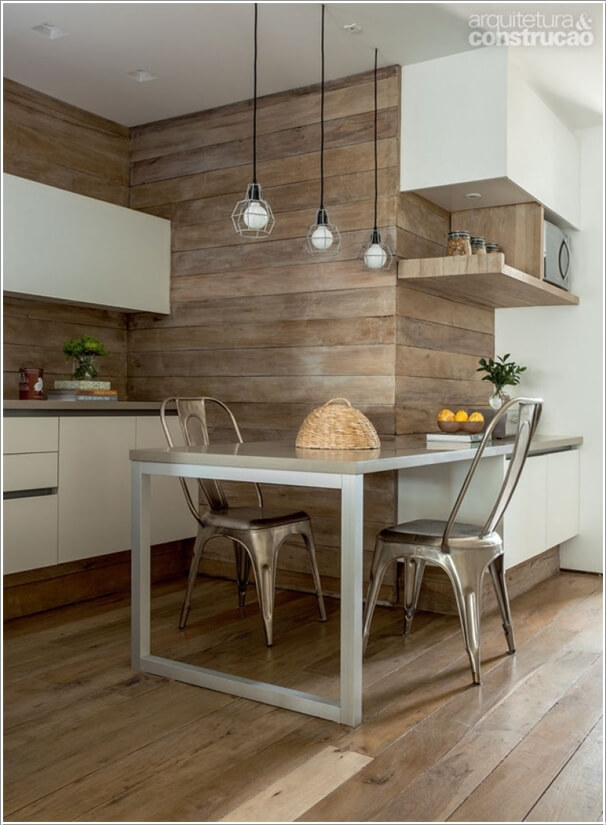 10 Chic Ways to add Metallic Accents to Your Kitchen 1