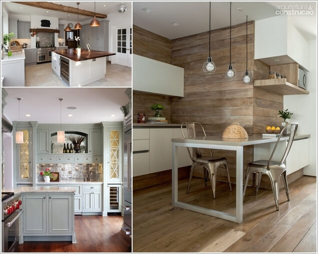 10 Chic Ways to add Metallic Accents to Your Kitchen a