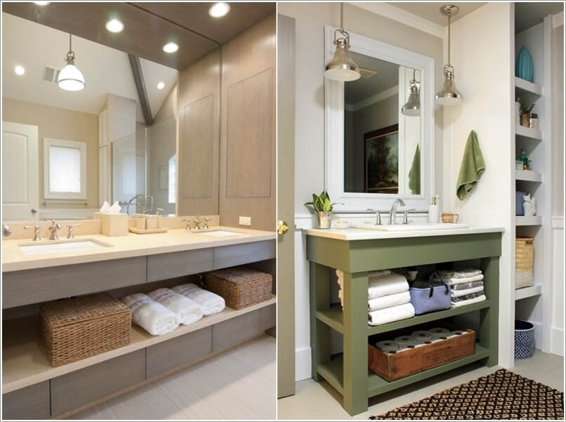 outlets storage beautiful your vanities pin kohler with ways bathroom easy tailored vanity organize to