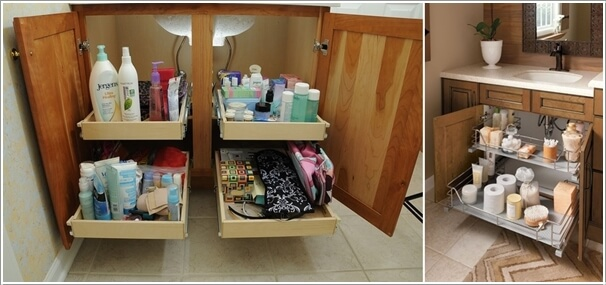 8 clever ways to maximize storage inside your bathroom vanity 4