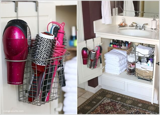 8 Clever Ways to Maximize Storage inside Your Bathroom Vanity 7