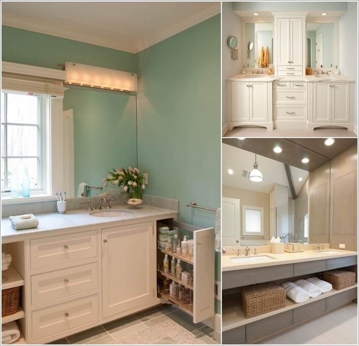 8 Clever Ways To Maximize Storage Inside Your Bathroom Vanity A