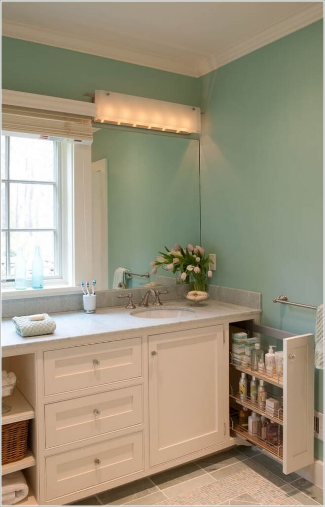 10 Amazing Ideas To Utilize The Space Under The Sink For Storage: 8 Clever Ways To Maximize Storage Inside Your Bathroom Vanity