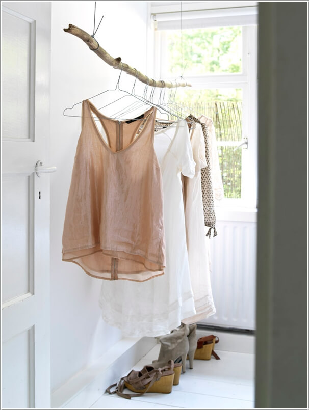 7 Cool and Clever Alternatives to a Closet 2