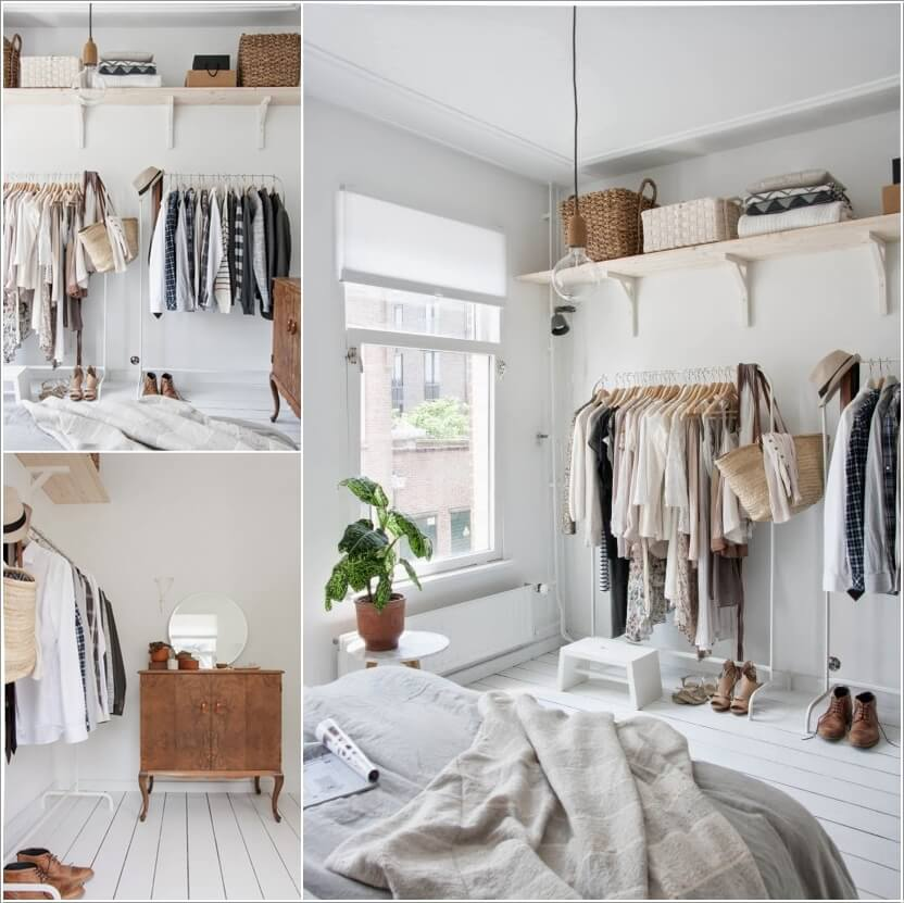 7 Cool and Clever Alternatives to a Closet 4