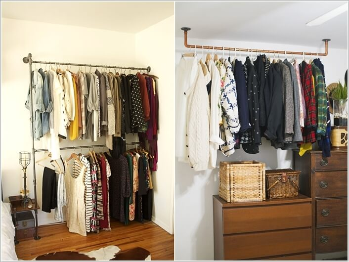 7 Cool And Clever Alternatives To A Closet