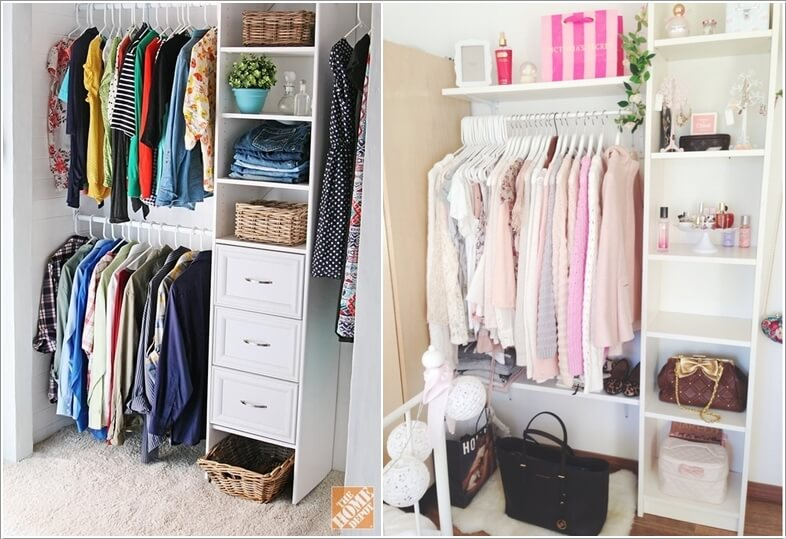 7 Cool and Clever Alternatives to a Closet 6