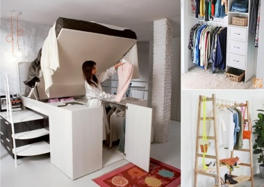 7 Cool and Clever Alternatives to a Closet fi