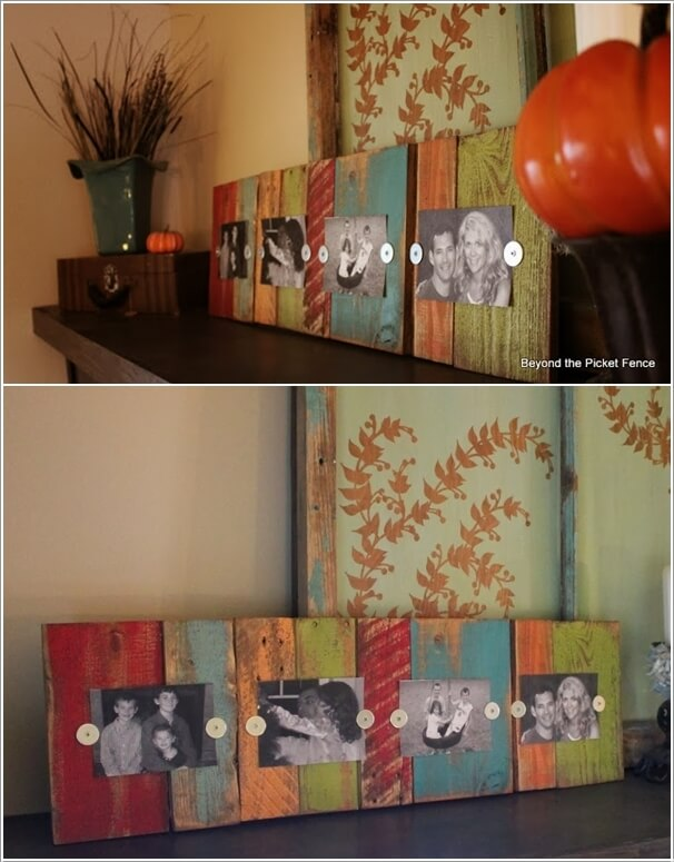 13 Cool Home Decor Projects to Make from Fence Wood 12