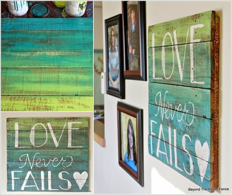 13 Cool Home Decor Projects to Make from Fence Wood 3
