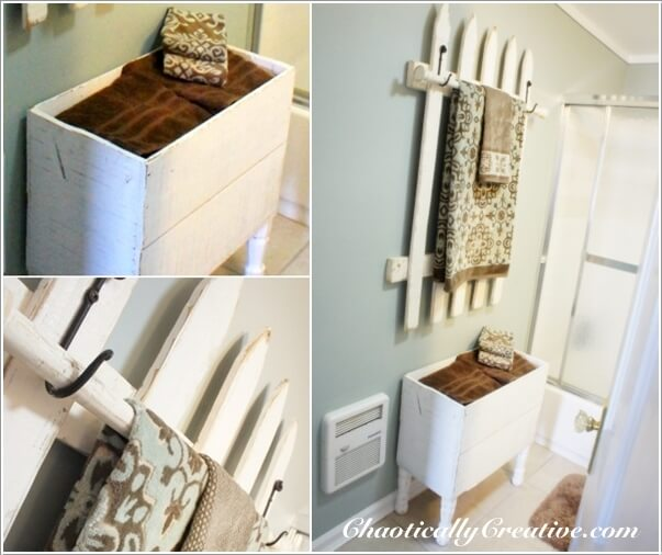 13 Cool Home Decor Projects to Make from Fence Wood 5