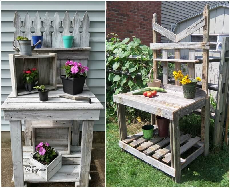 13 Cool Home Decor Projects to Make from Fence Wood 10
