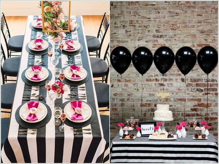 10 Cool Party Table Decoration Ideas You Will Love 9