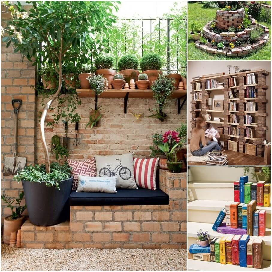 10 Creative Indoor and Outdoor Brick Projects to Try a