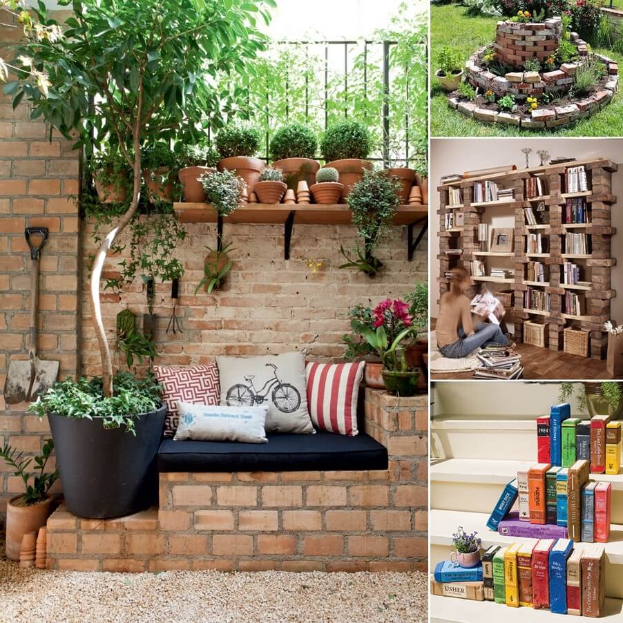 Creative Uses For Bricks: 10 Creative Indoor And Outdoor Brick Projects To Try