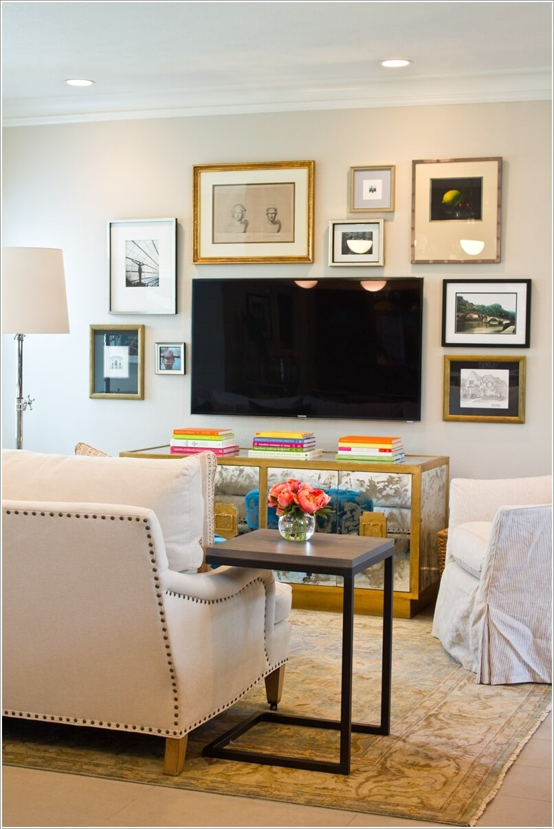 15 Creative Ways to Display Your Picture Frames 2