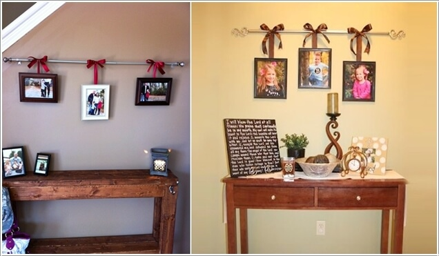 15 Creative Ways to Display Your Picture Frames 11