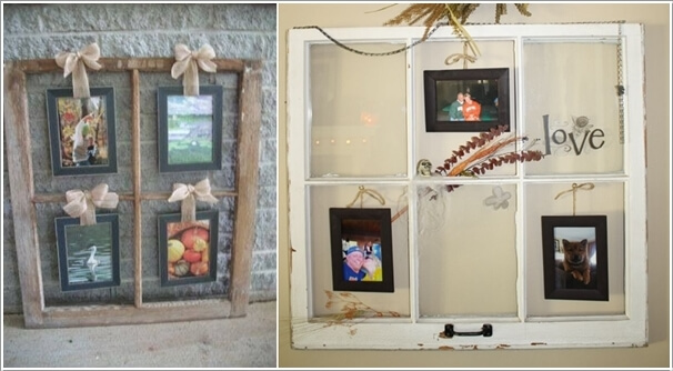 bright idea for decoration creative frame the picture with many unique and vintage styled
