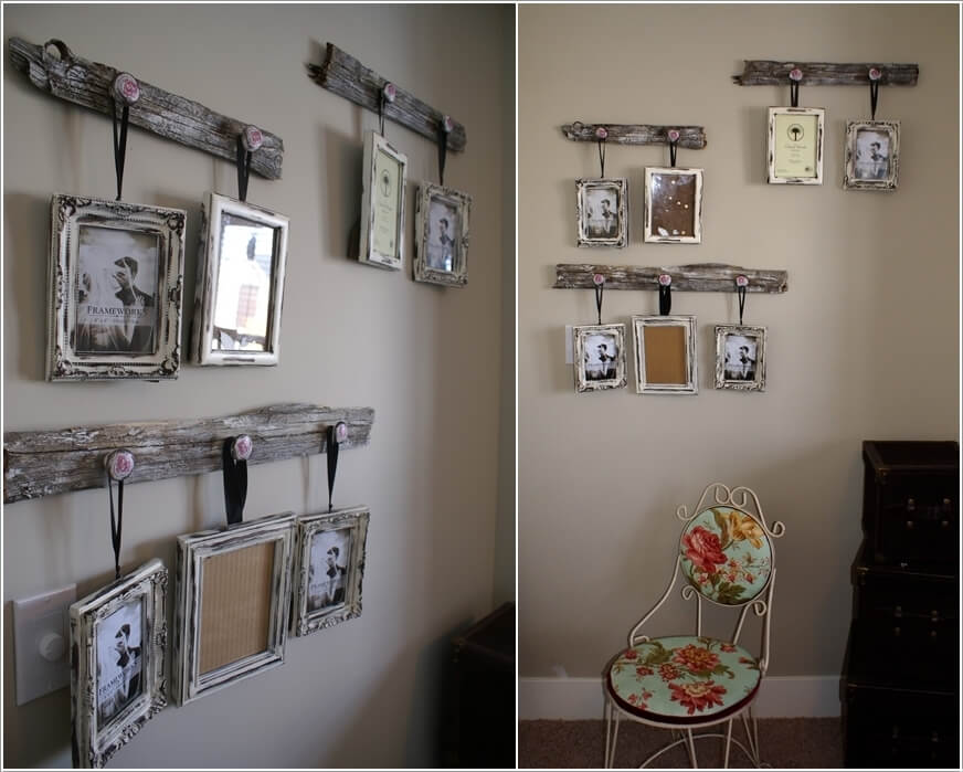 15 Creative Ways To Display Your Picture Frames 13