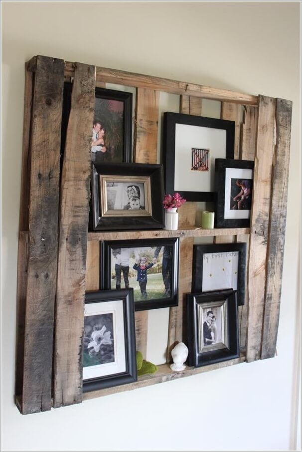 15 Creative Ways to Display Your Picture Frames 15