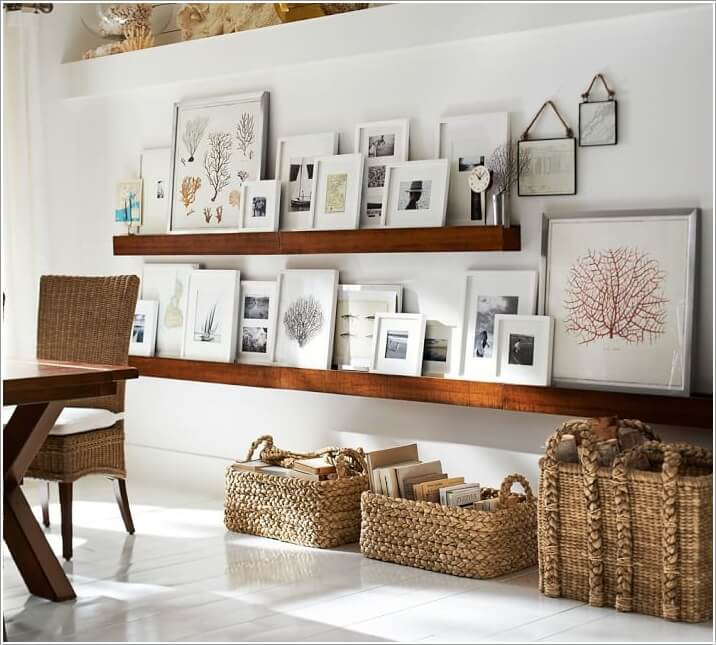 15 Creative Ways to Display Your Picture Frames