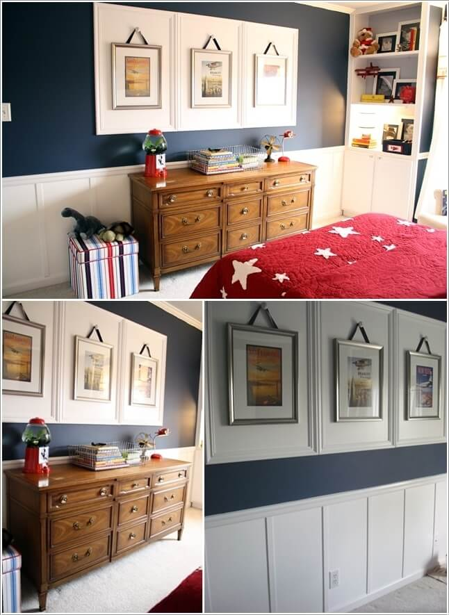 15 Creative Ways to Display Your Picture Frames 5