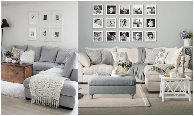 15 Creative Ways to Display Your Picture Frames 6