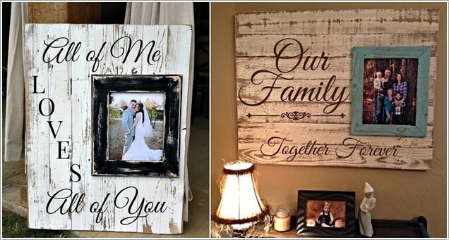 15 Creative Ways to Display Your Picture Frames 8