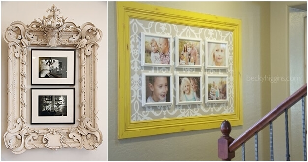15 Creative Ways to Display Your Picture Frames 9