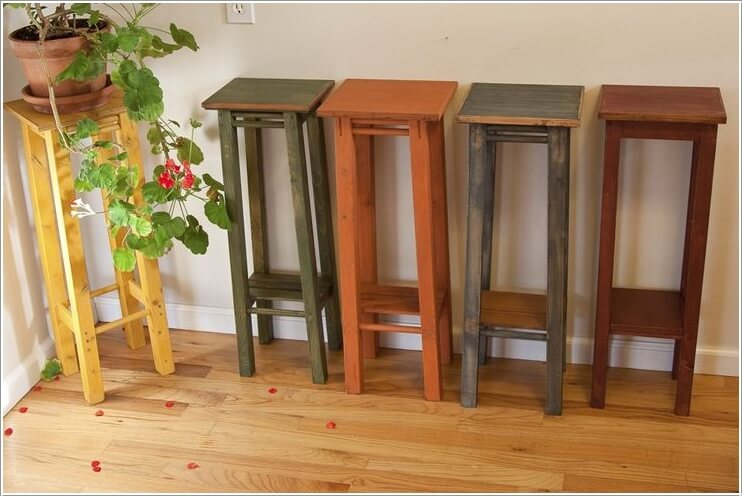 13 Fresh Ideas for Indoor Planter Stands 4
