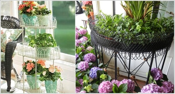 13 Fresh Ideas for Indoor Planter Stands 7