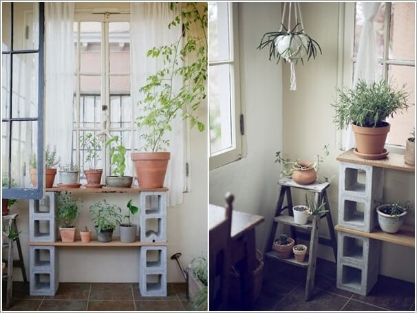 13 Fresh Ideas for Indoor Planter Stands 8