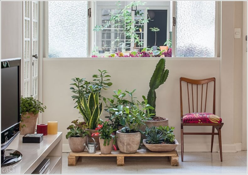 13 Fresh Ideas for Indoor Planter Stands 3