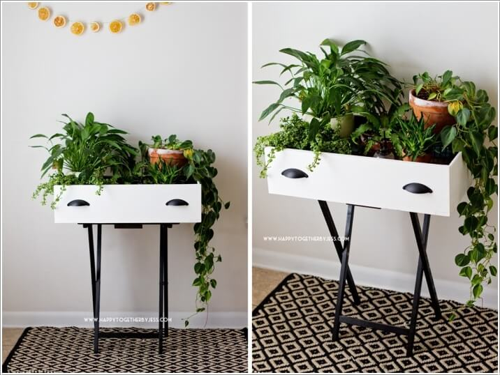13 Fresh Ideas For Indoor Planter Stands