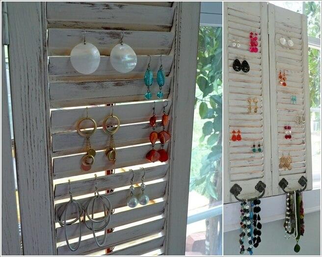 10 Lovely DIY Earring Holder Ideas for You 6