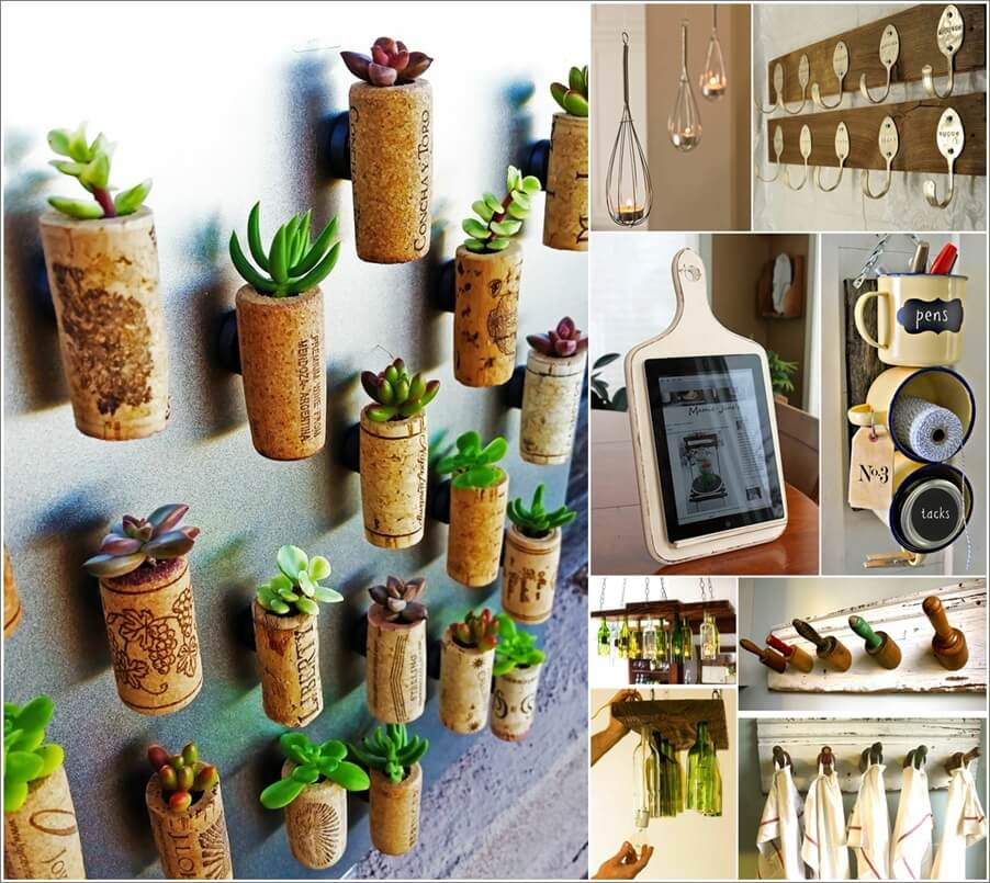 101 Amazing Old Kitchen Stuff Recycling Projects