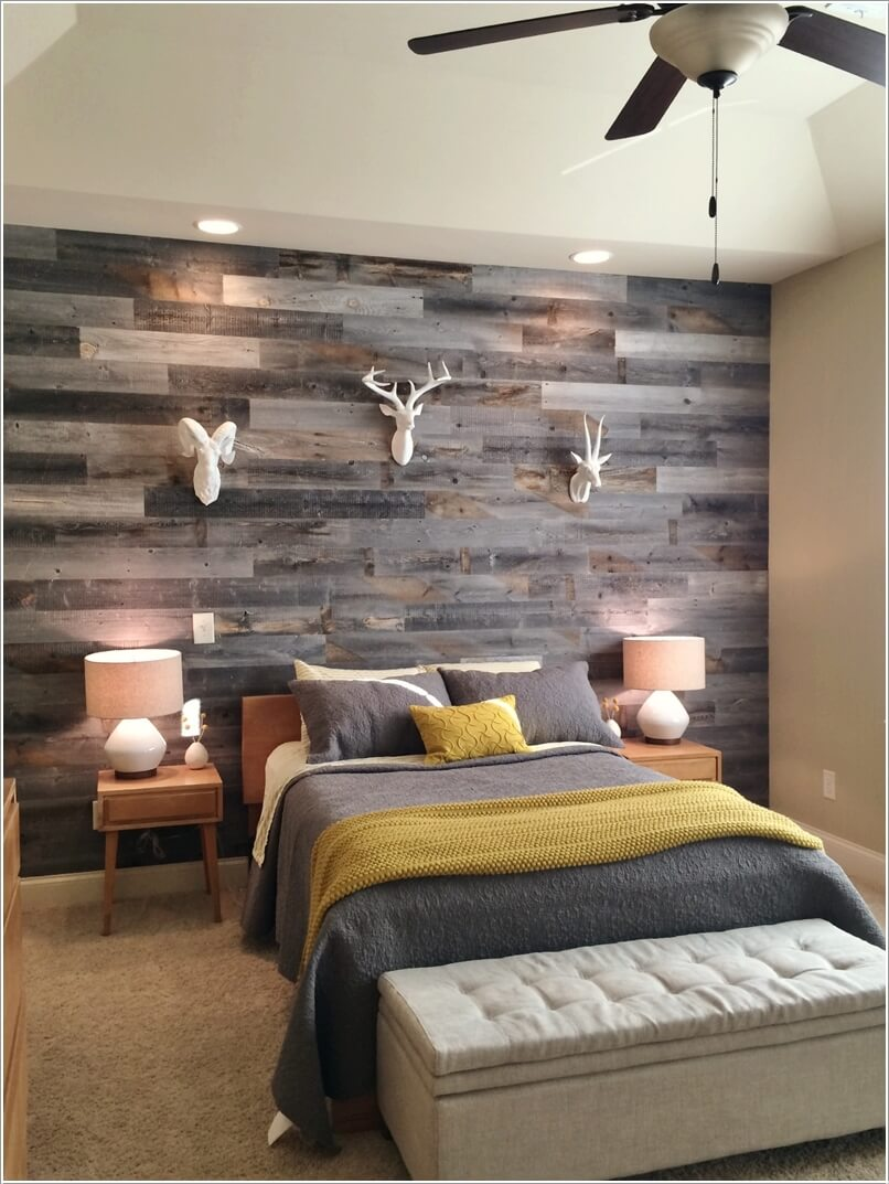 13 Chic Ways to Style Your Bedroom's Headboard Wall 11