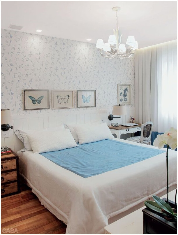 13 Chic Ways to Style Your Bedroom's Headboard Wall 3