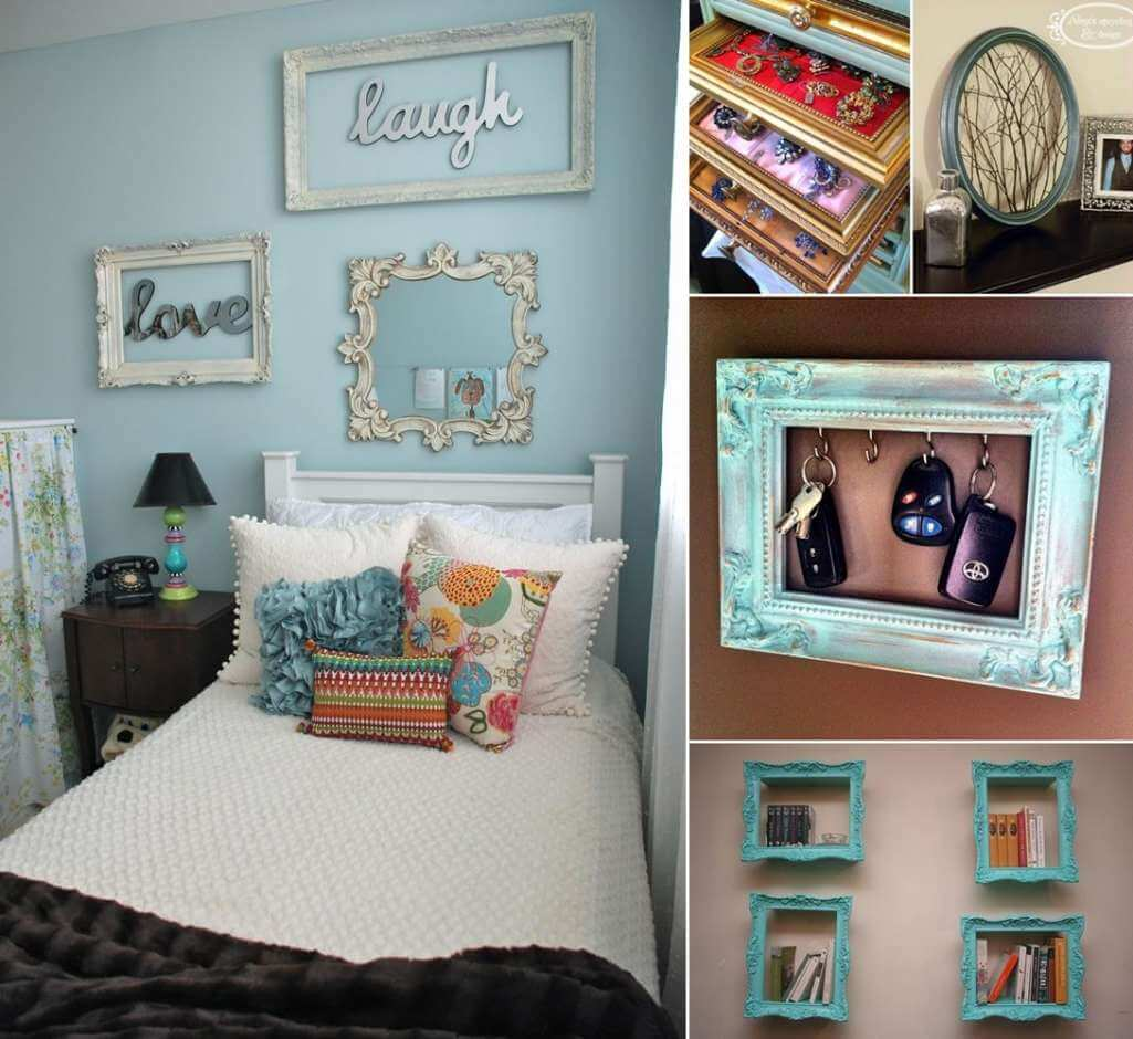 Cool Picture Video Ideas: 12 Cool Ideas To Recycle Carved Picture Frames