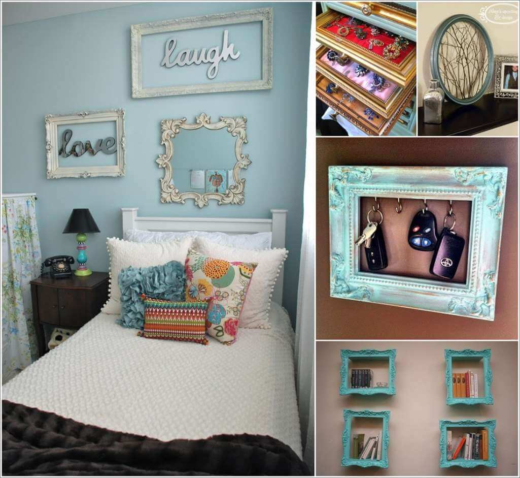 12 Cool Ideas to Recycle Craved Picture Frames 1