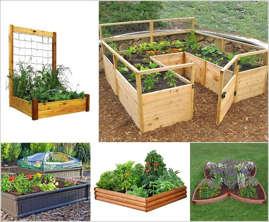 13 Amazing Raised Garden Kits You Can Easily Build Yourself