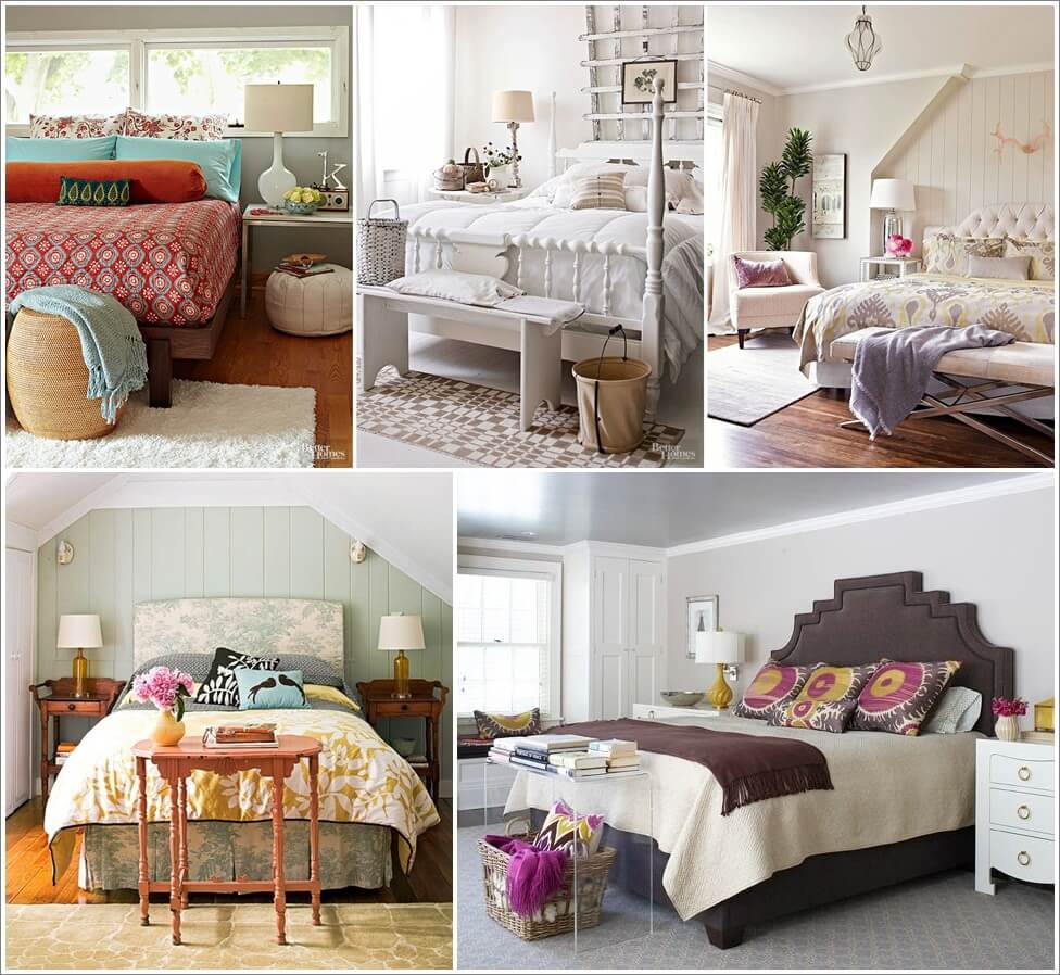 13 Chic Ideas For Styling Your Bed Foot - Bed Styling Ideas