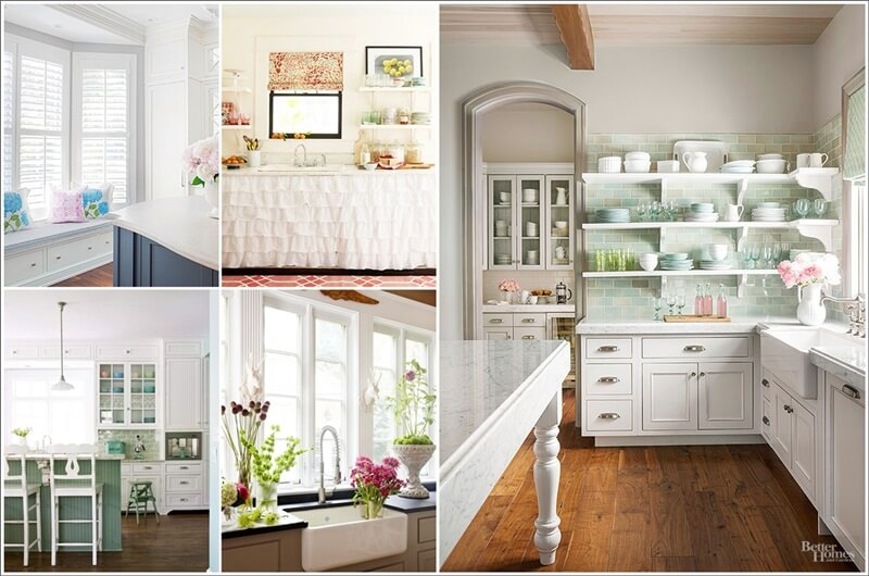 15 design tips for decorating a cottage style kitchen for Cottage style kitchen design