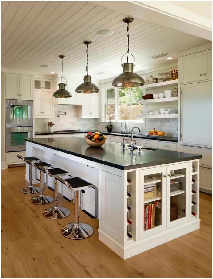 15 Interesting Elements You Can Add to a Kitchen Island