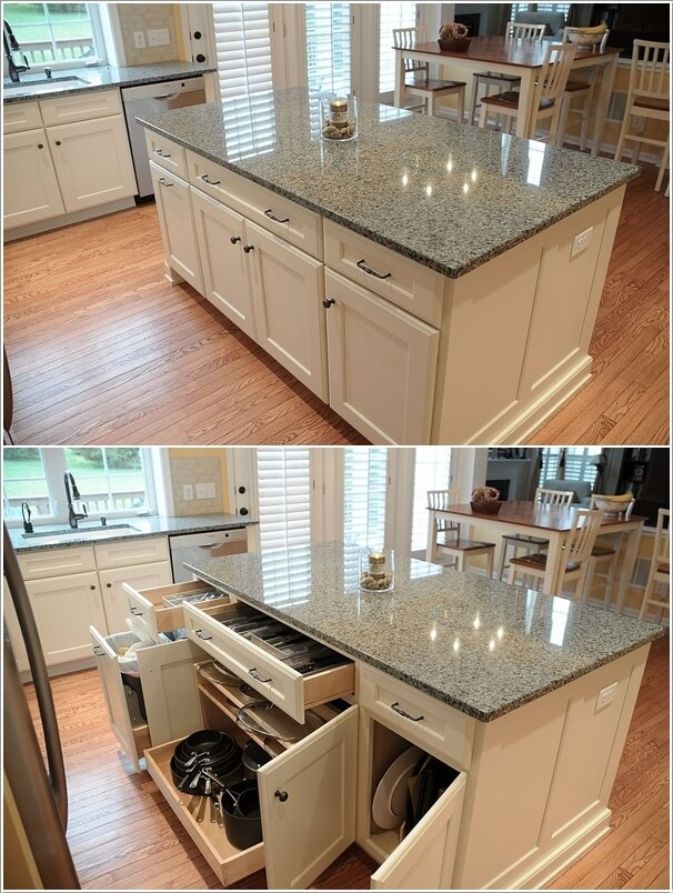 15 Interesting Elements You Can Add to a Kitchen Island 12